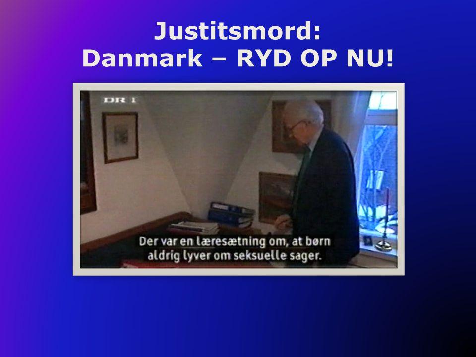 Justitsmord: Danmark – RYD OP NU! Sean Penn fortæller om justitsmord.