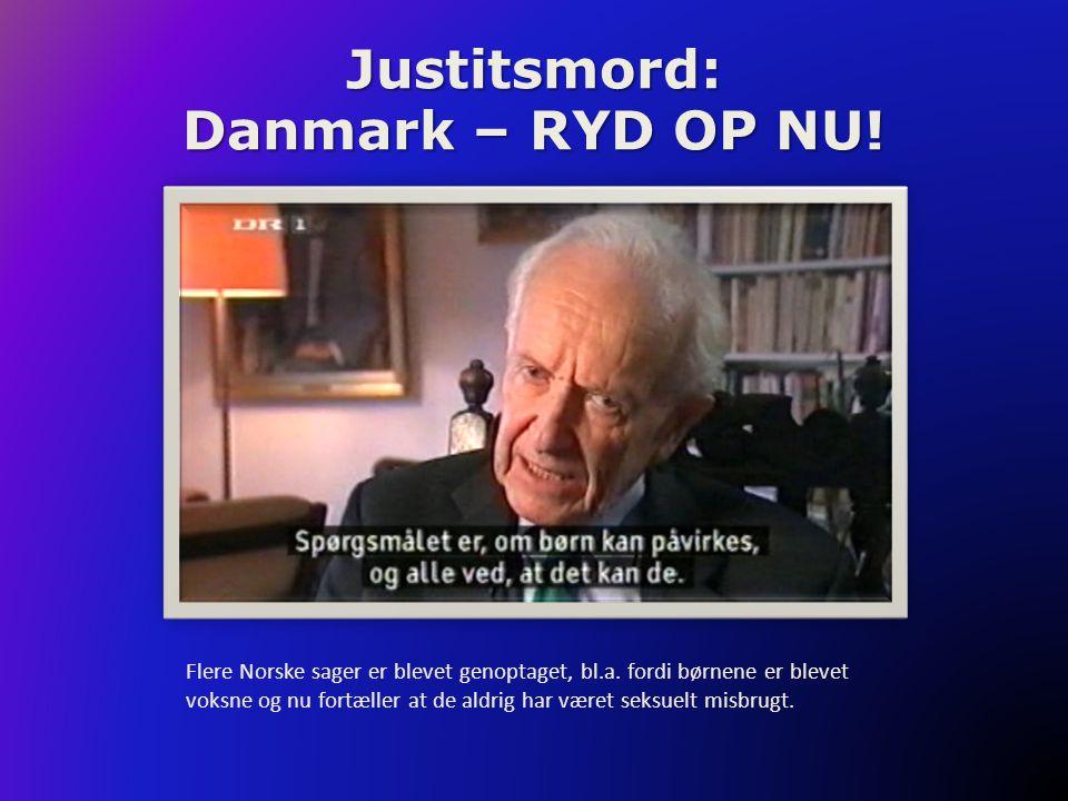 Flere Norske sager er blevet genoptaget, bl.a. fordi børnene er blevet voksne og nu fortæller at de aldrig har været seksuelt misbrugt.