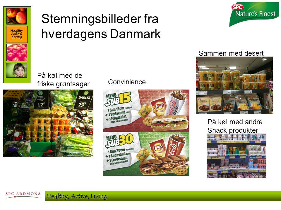 Healthy Active Living SPC Ardmona - Healthy, Active, Living Stemningsbilleder fra hverdagens Danmark På køl med de friske grøntsager Convinience På kø