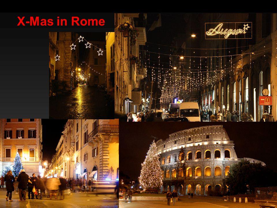 X-Mas in Rome