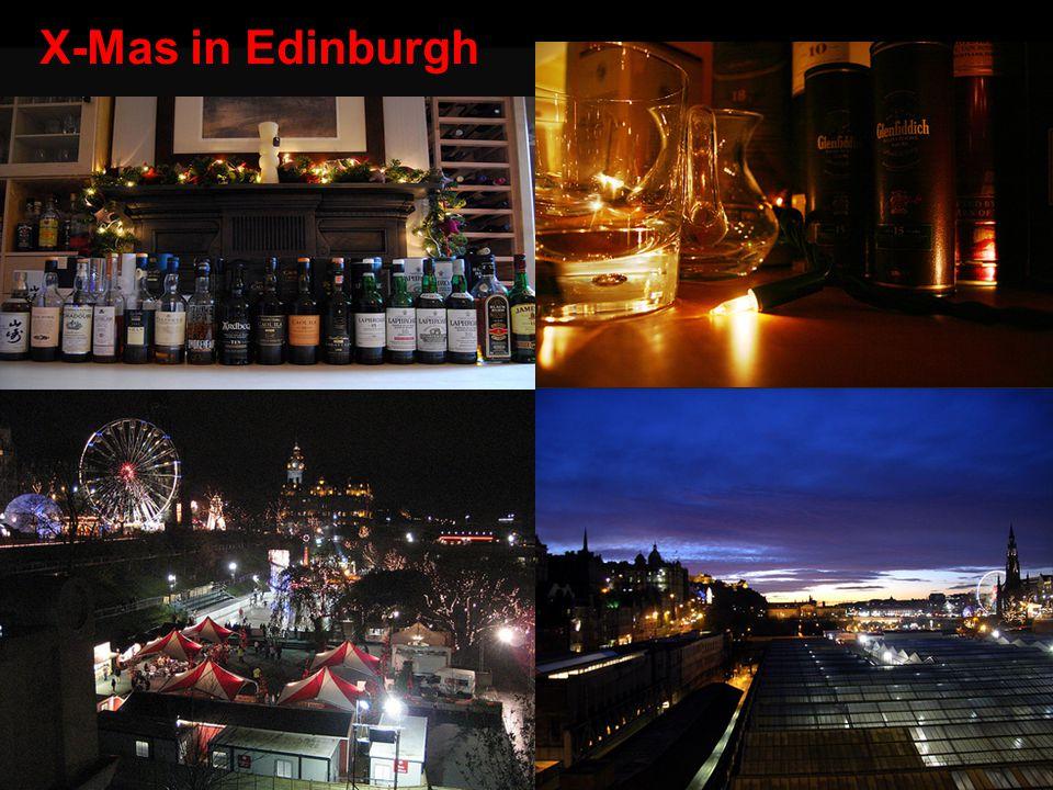 X-Mas in Edinburgh