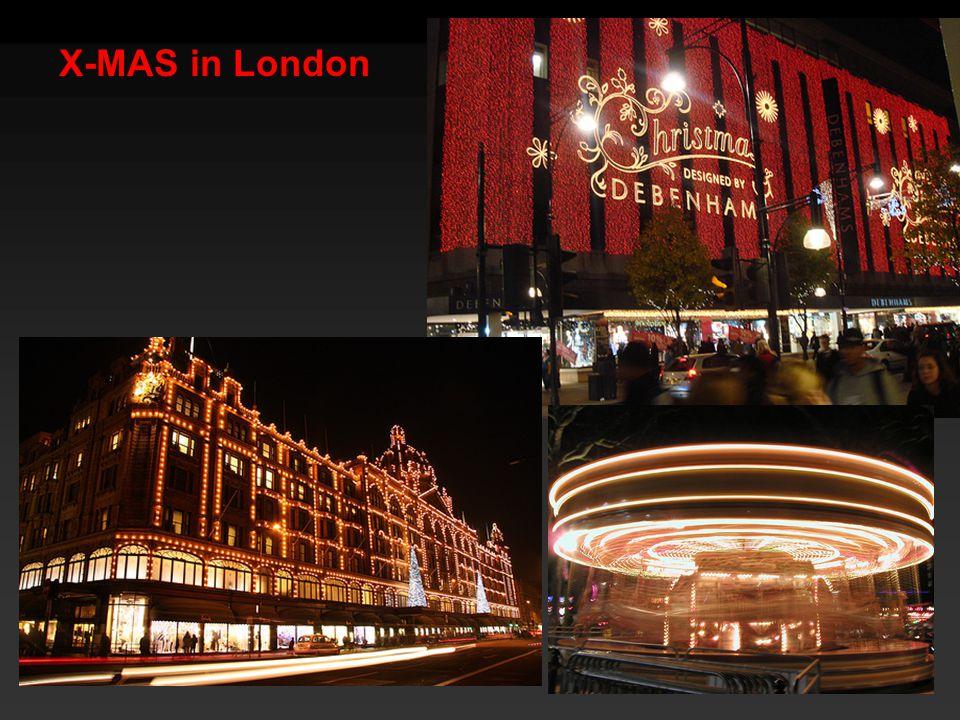 X-MAS in London
