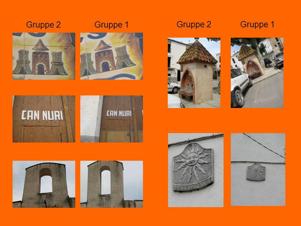 Gruppe 1 Gruppe 2Gruppe 1