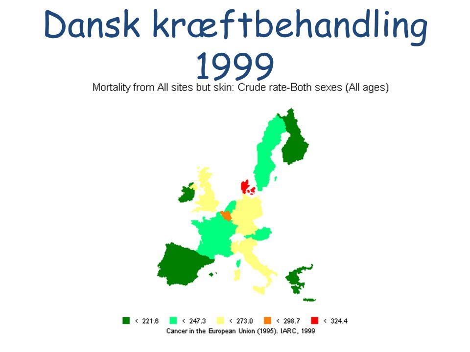 Dansk kræftbehandling 1999