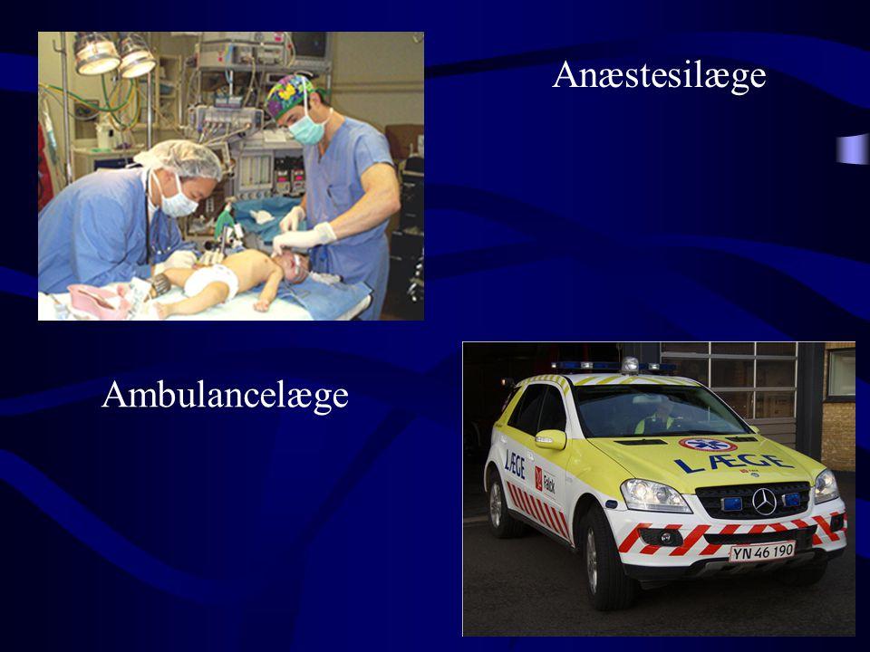 Ambulancelæge Anæstesilæge