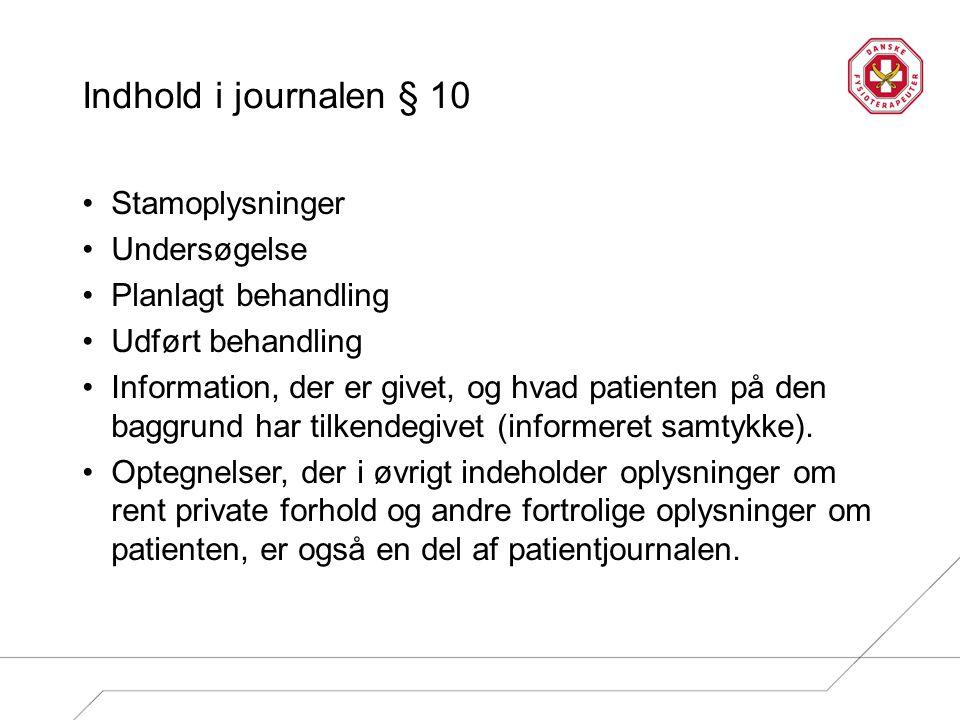 Kontakt Danske Fysioterapeuter gp@fysiok.dk Telefon 3341 4656 eller 6029 8394