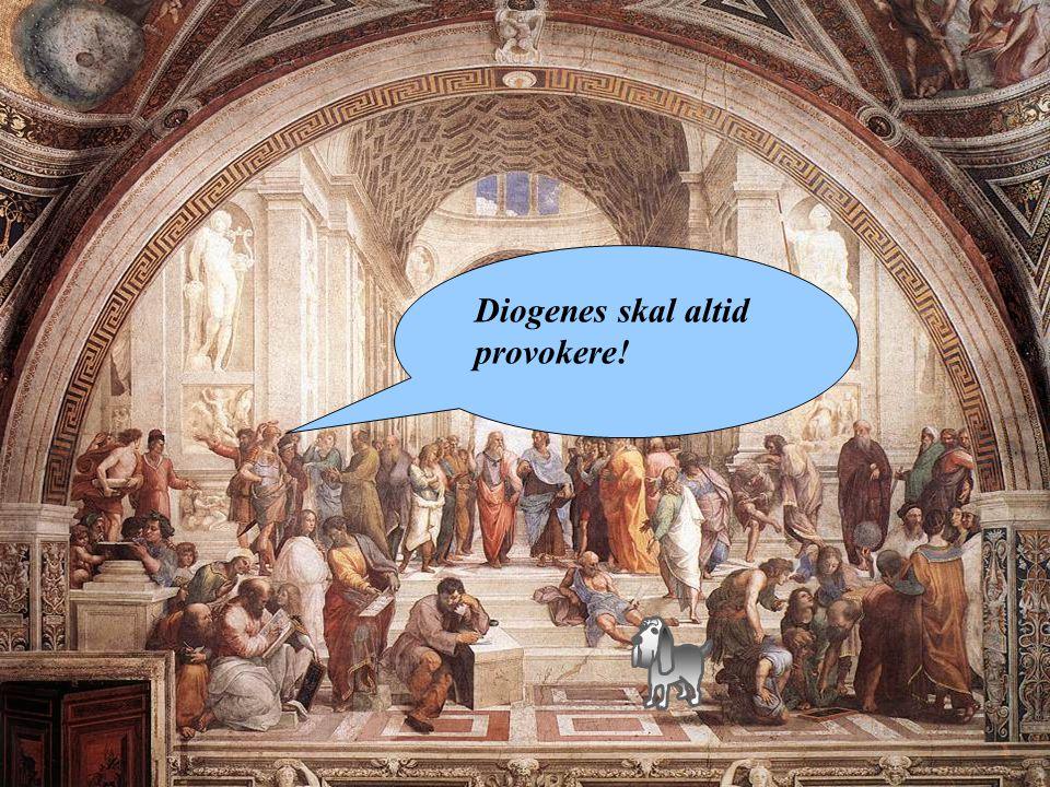 Diogenes skal altid provokere!