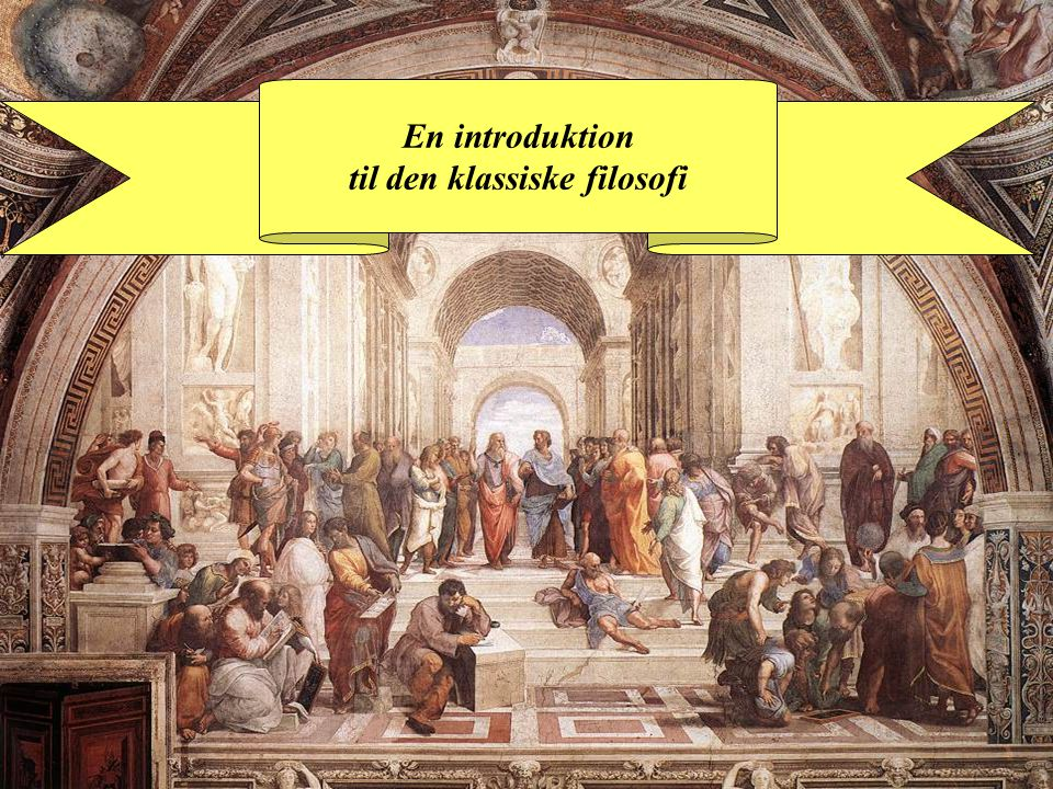 En introduktion til den klassiske filosofi