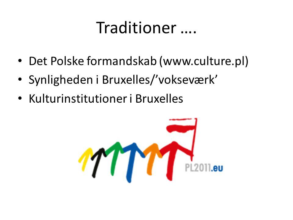 Traditioner ….