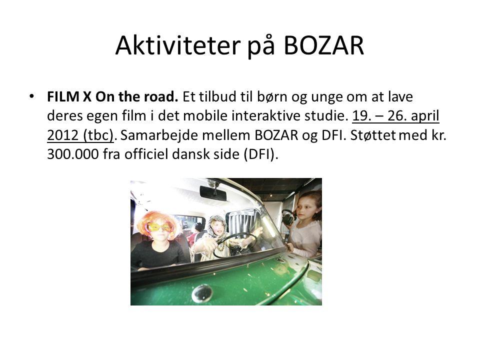 Aktiviteter på BOZAR • FILM X On the road.