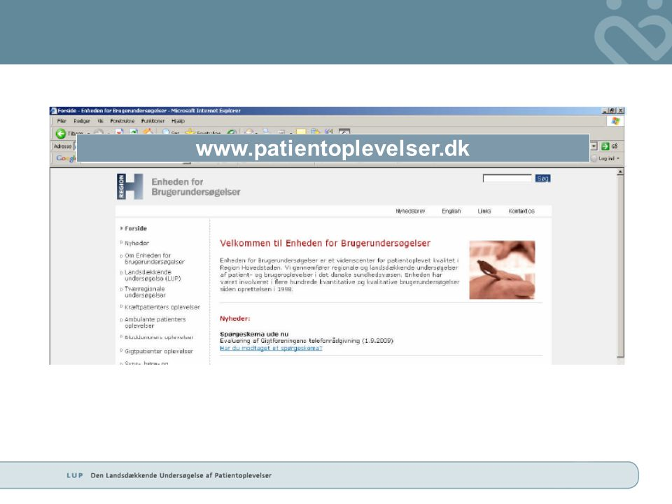 www.patientoplevelser.dk
