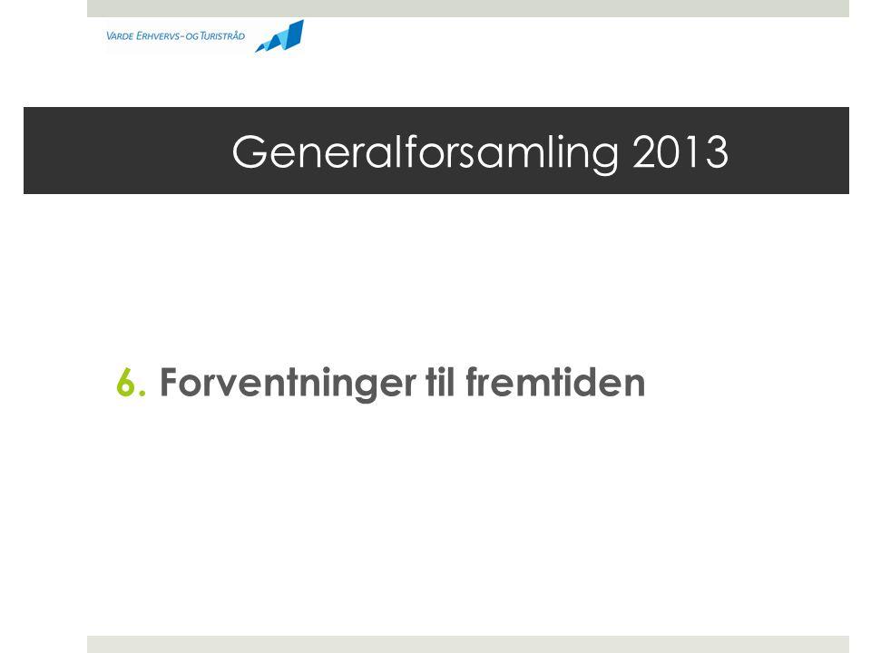 Generalforsamling 2013 6. Forventninger til fremtiden
