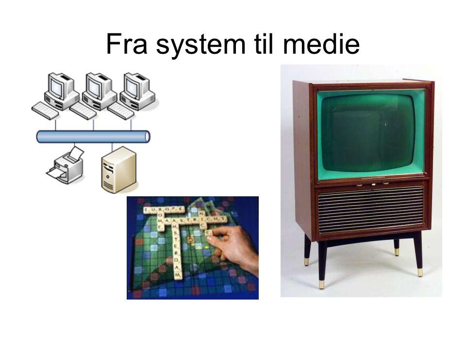 Fra system til medie