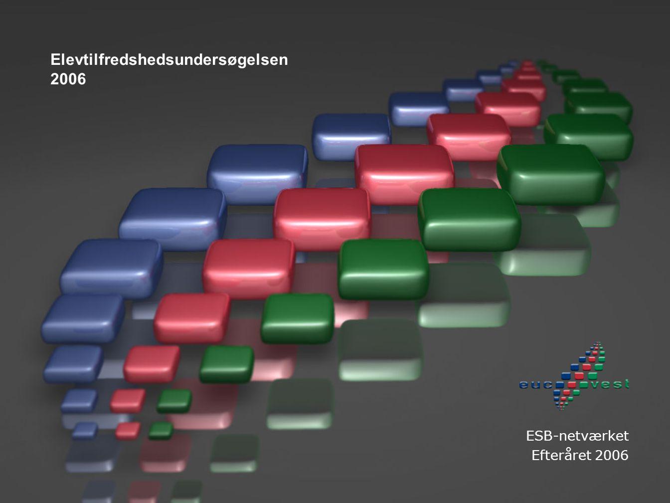 Elevtilfredshedsundersøgelsen 2006 ESB-netværket Efteråret 2006