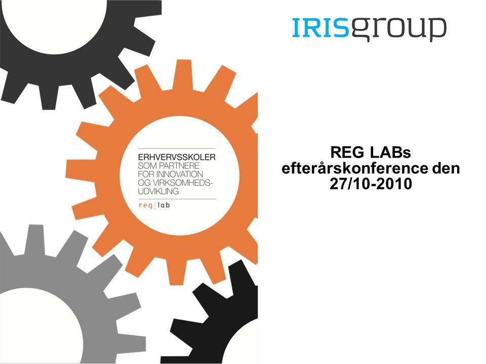 REG LABs efterårskonference den 27/10-2010