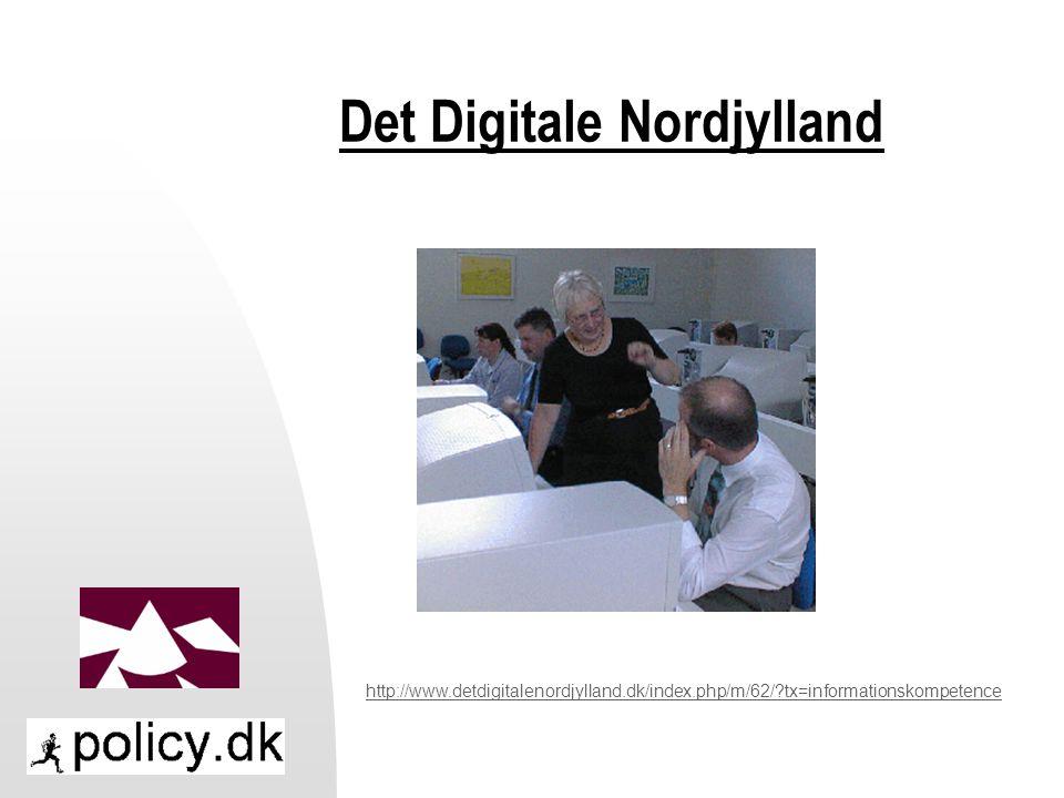 Det Digitale Nordjylland http://www.detdigitalenordjylland.dk/index.php/m/62/ tx=informationskompetence