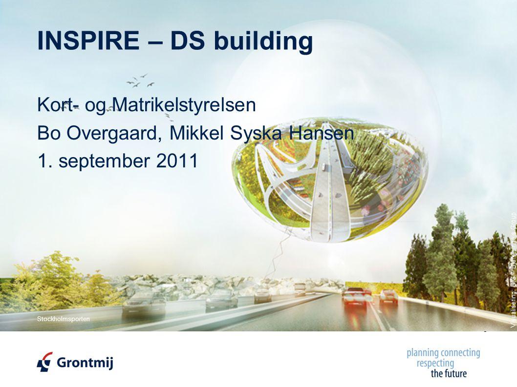 © Copyright, Grontmij A/S 2011 INSPIRE – DS building Kort- og Matrikelstyrelsen Bo Overgaard, Mikkel Syska Hansen 1.