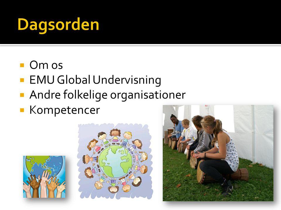  Om os  EMU Global Undervisning  Andre folkelige organisationer  Kompetencer