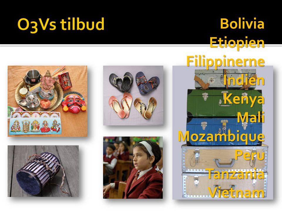 BoliviaEtiopien Filippinerne FilippinerneIndienKenyaMaliMozambiquePeruTanzaniaVietnam