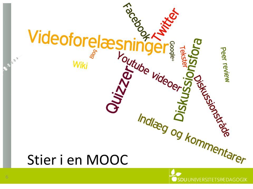 6 Stier i en MOOC
