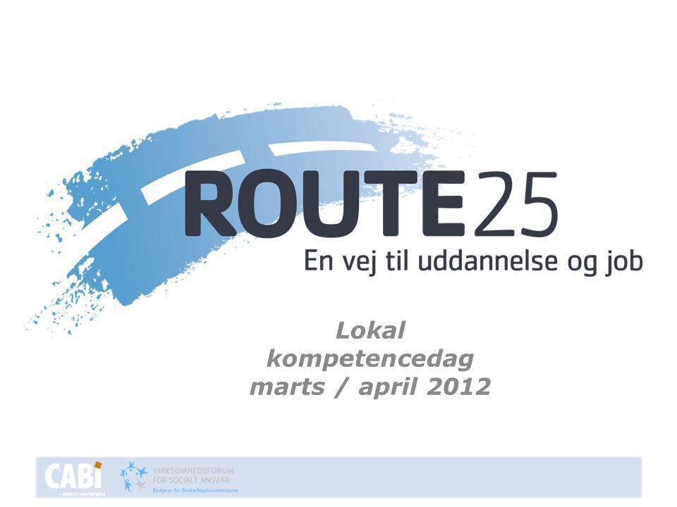 Lokal kompetencedag marts / april 2012