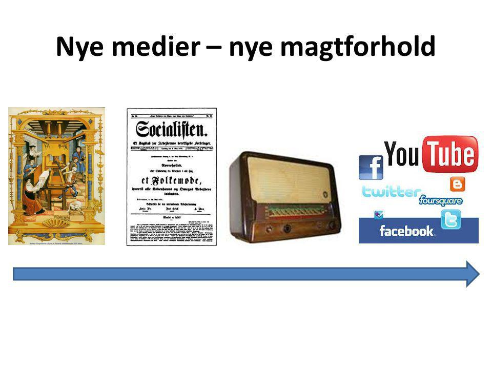 Nye medier – nye magtforhold