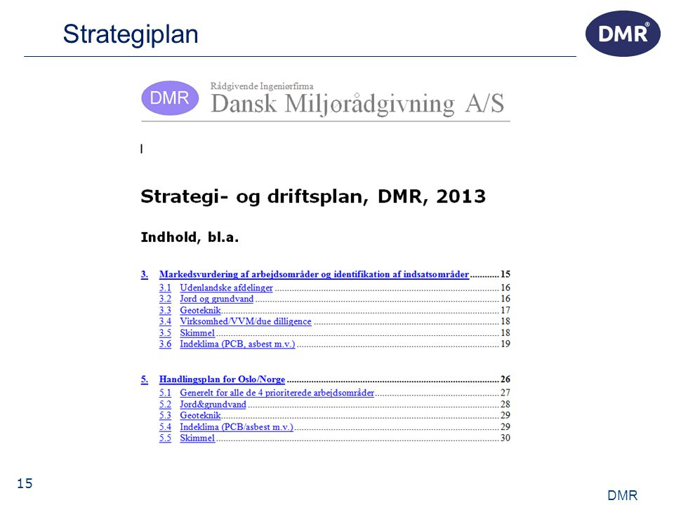 15 Strategiplan DMR