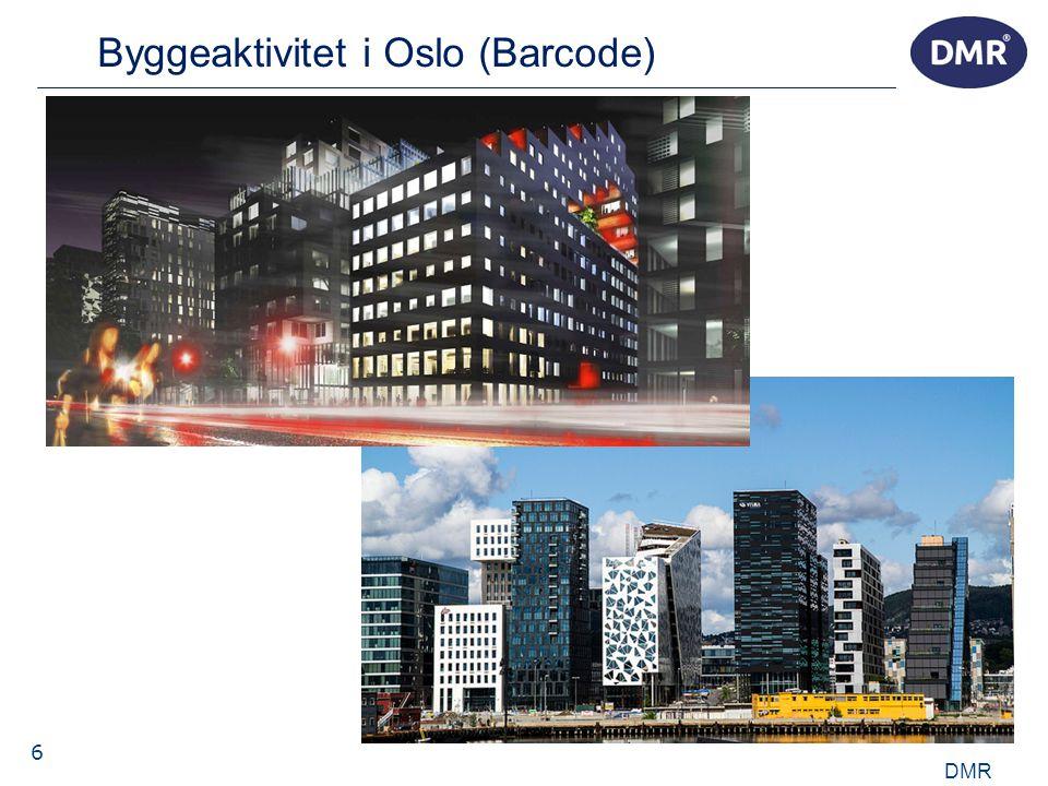 6 Byggeaktivitet i Oslo (Barcode) DMR