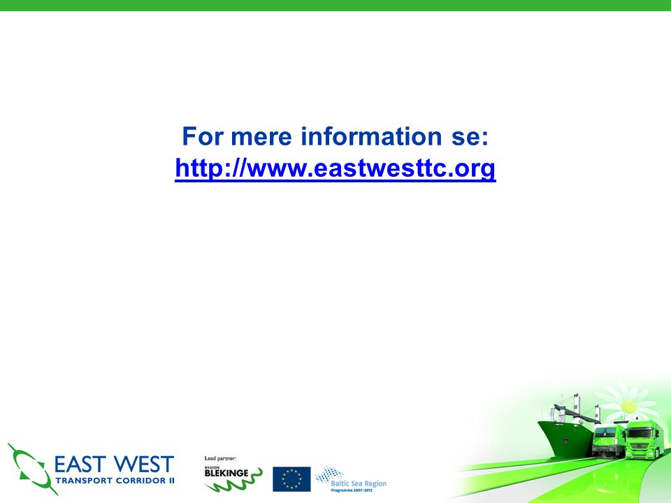 For mere information se: http://www.eastwesttc.org http://www.eastwesttc.org