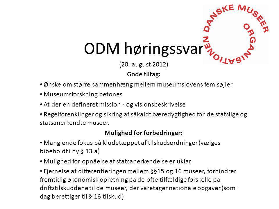 ODM høringssvar (20.