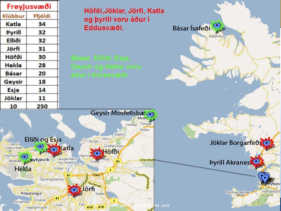 Höfði,Jöklar, Jörfi, Katla og þyrill voru áður í Eddusvæði.