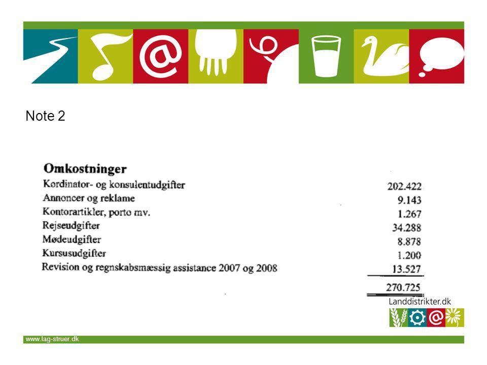 www.lag-struer.dk Note 2