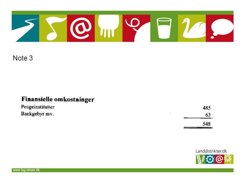 www.lag-struer.dk Note 3