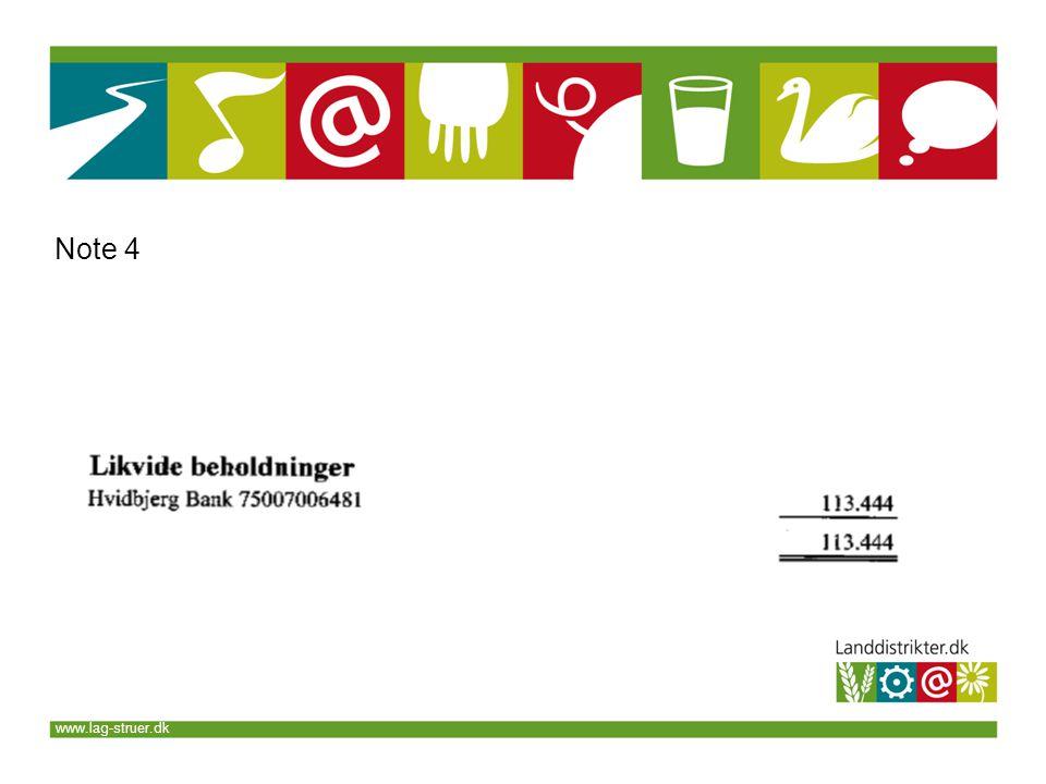 www.lag-struer.dk Note 4