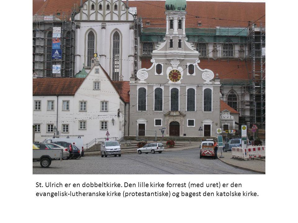 St. Ulrich er en dobbeltkirke.