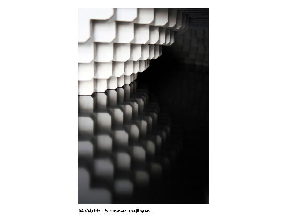 04 Valgfrit – fx rummet, spejlingen…