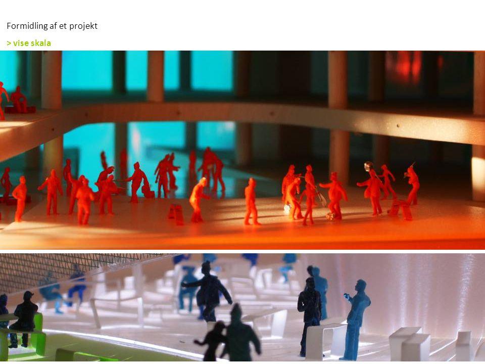 Formidling af et projekt > vise skala
