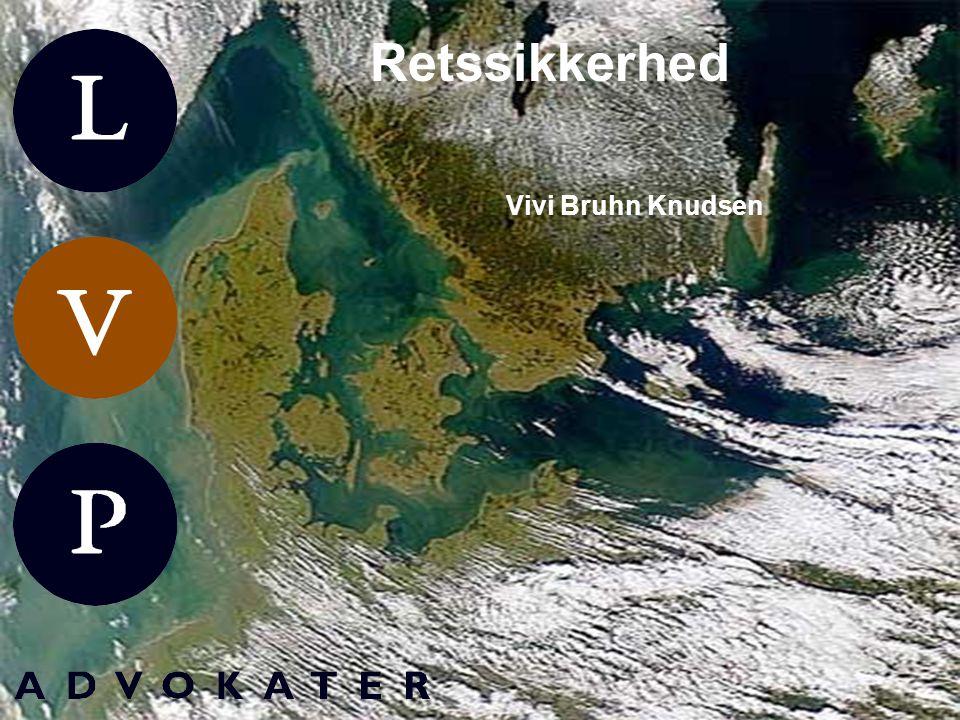 jordforureningsloven Retssikkerhed Vivi Bruhn Knudsen