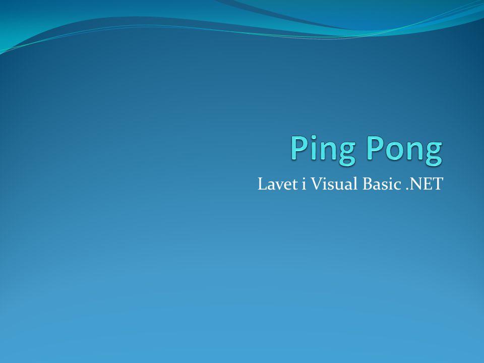 Lavet i Visual Basic.NET