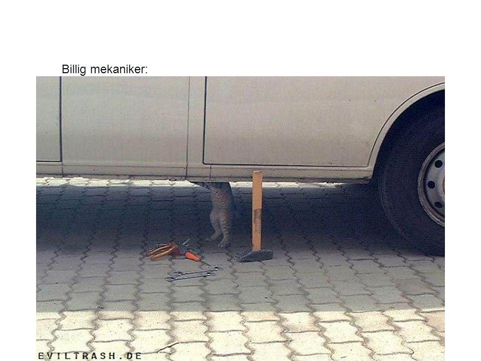 Billig mekaniker: