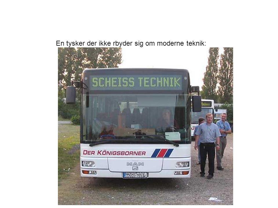En tysker der ikke rbyder sig om moderne teknik: