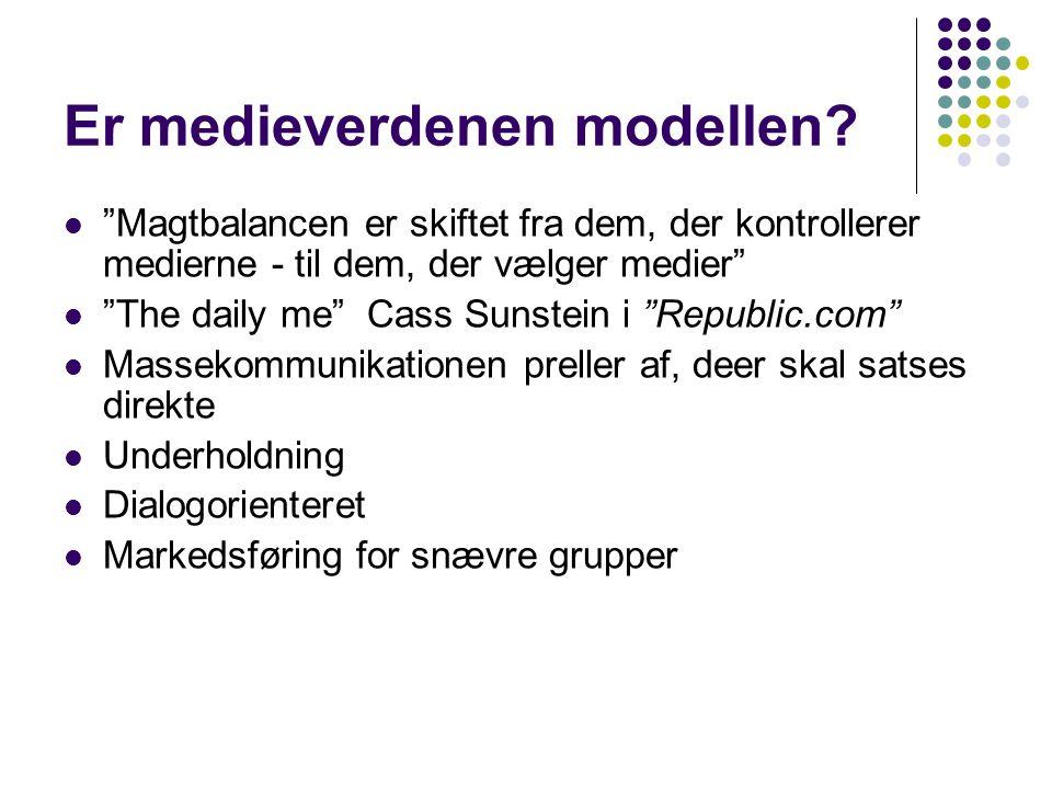 Er medieverdenen modellen.