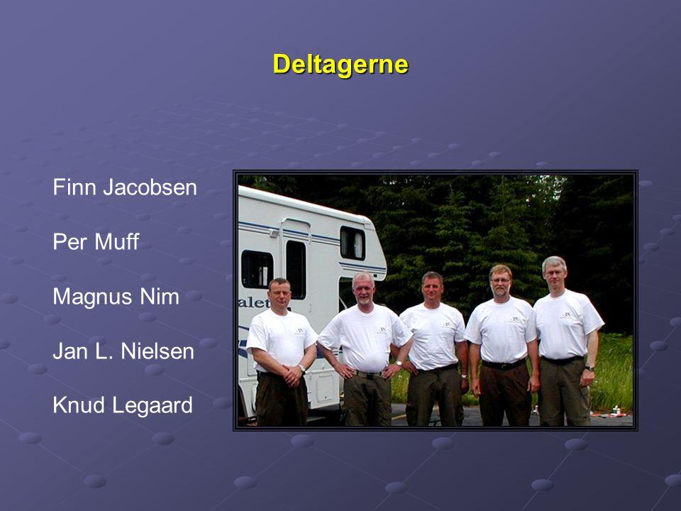 DeltagerneDeltagerne Finn Jacobsen Per Muff Magnus Nim Jan L. Nielsen Knud Legaard
