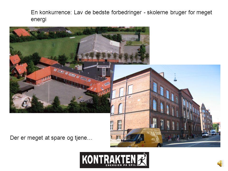 Fire firmaer konkurrerer om kontrakten med kommunen.