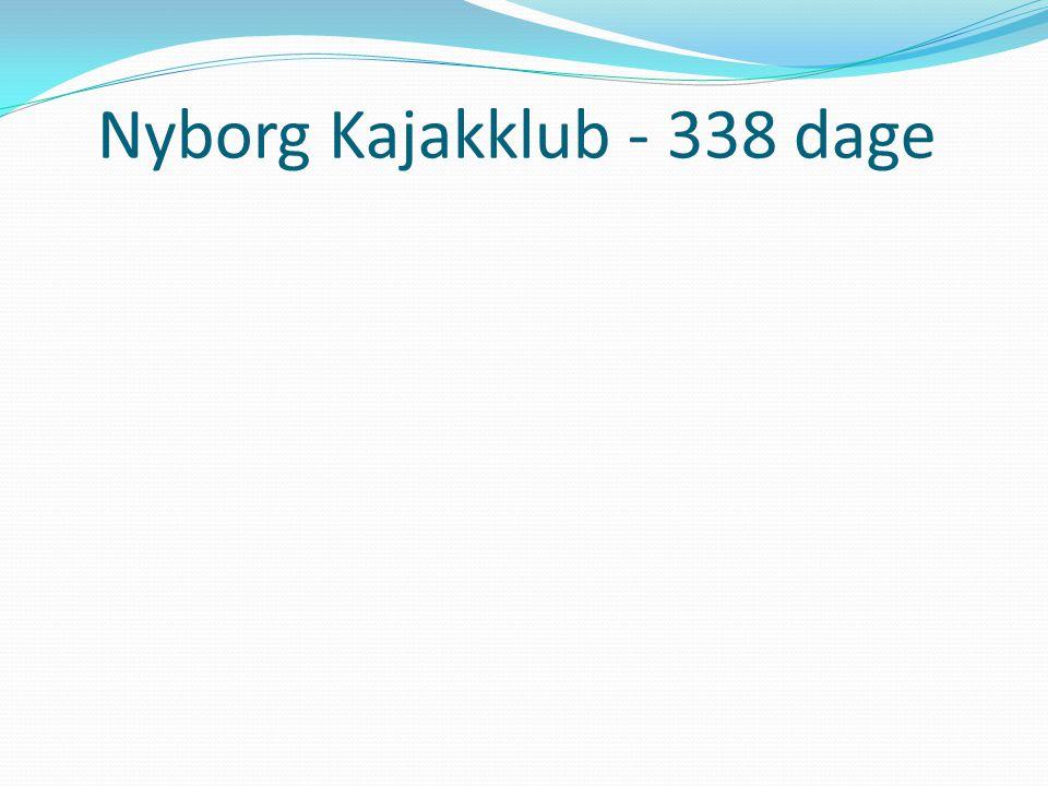 Nyborg Kajakklub - 338 dage