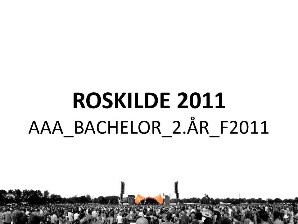 ROSKILDE 2011 AAA_BACHELOR_2.ÅR_F2011