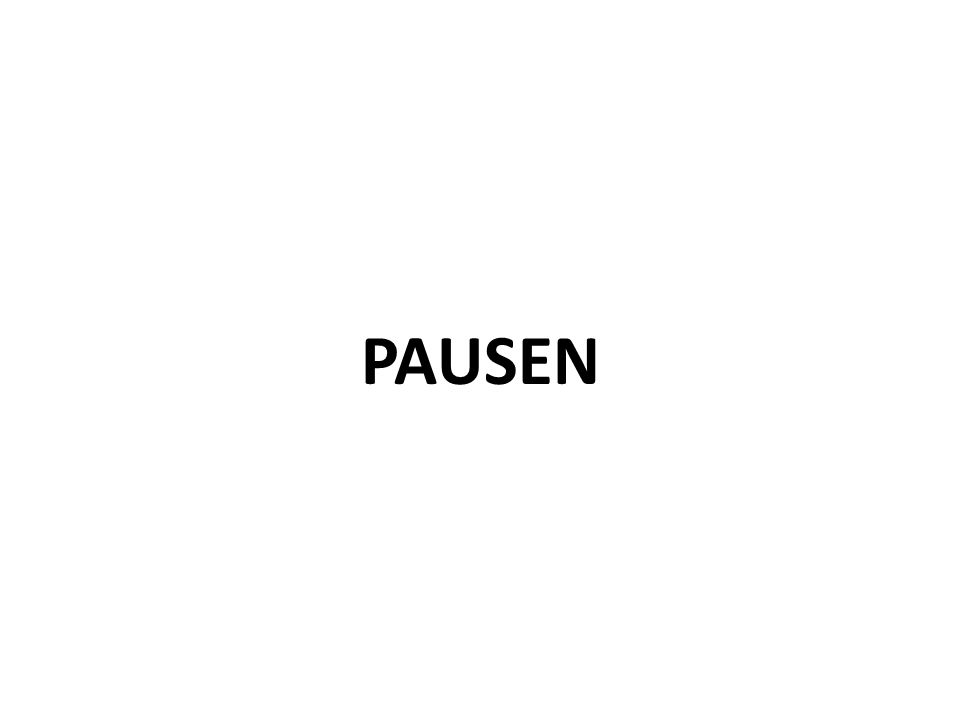 PAUSEN