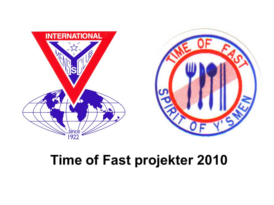 Time of Fast projekter 2010