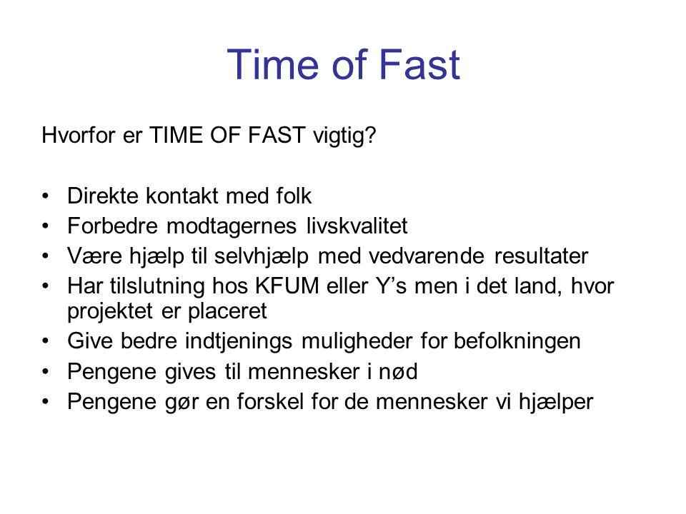 Time of Fast Hvorfor er TIME OF FAST vigtig.