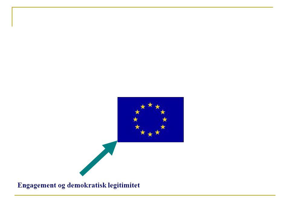 Engagement og demokratisk legitimitet